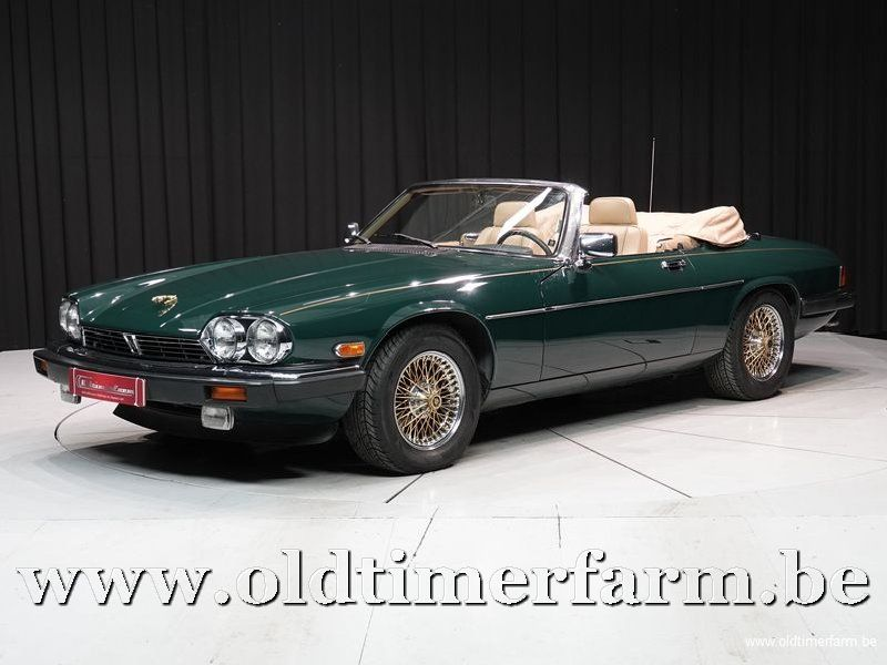 Jaguar XJS V12 Convertible '90 (1990)