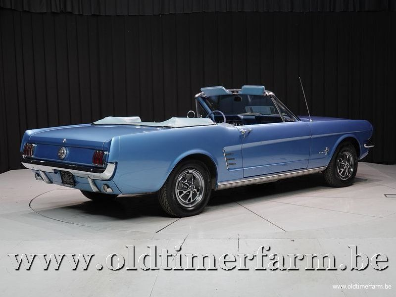 Ford Mustang Cabriolet 6-Cil '66 (1966)