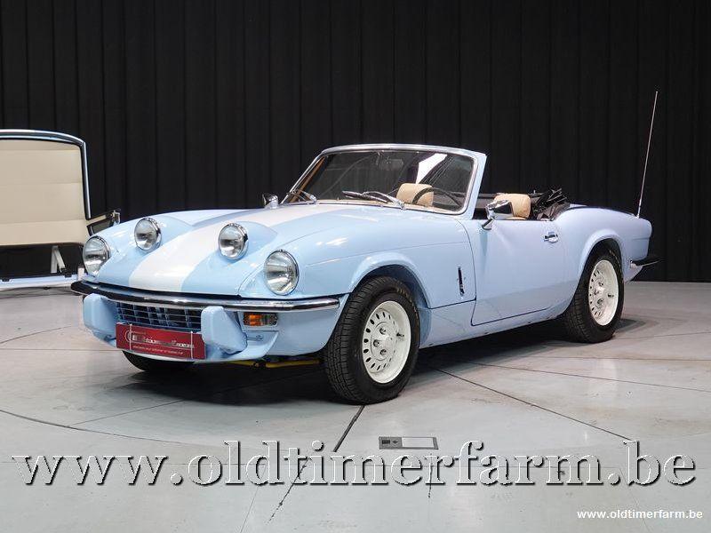 Triumph Spitfire blue 1500 '79 (1979)