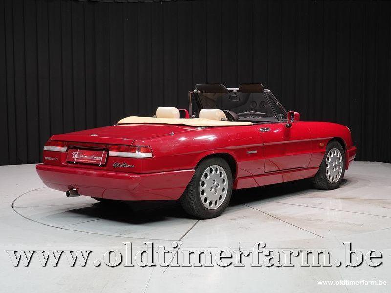 Alfa Romeo Spider 4 2.0 Red  '91 (1991)