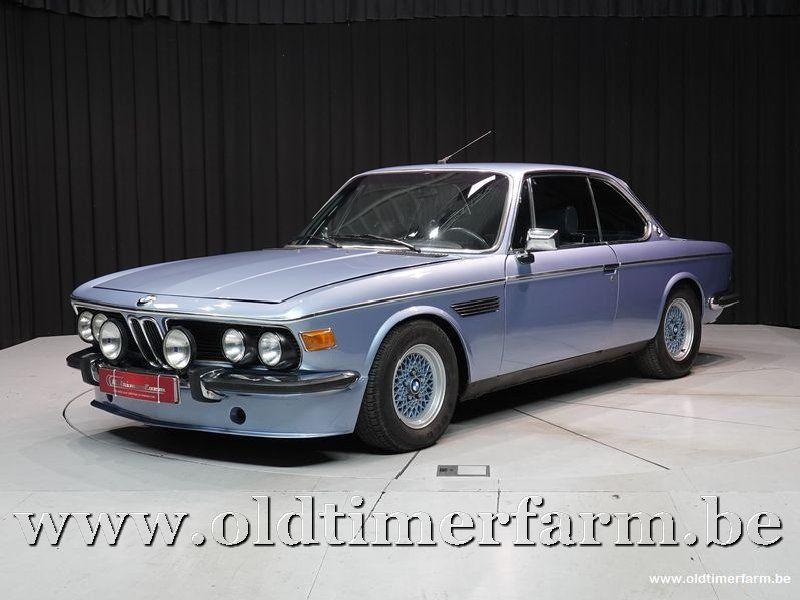 BMW 2.5 CS Blue '75 (1975)