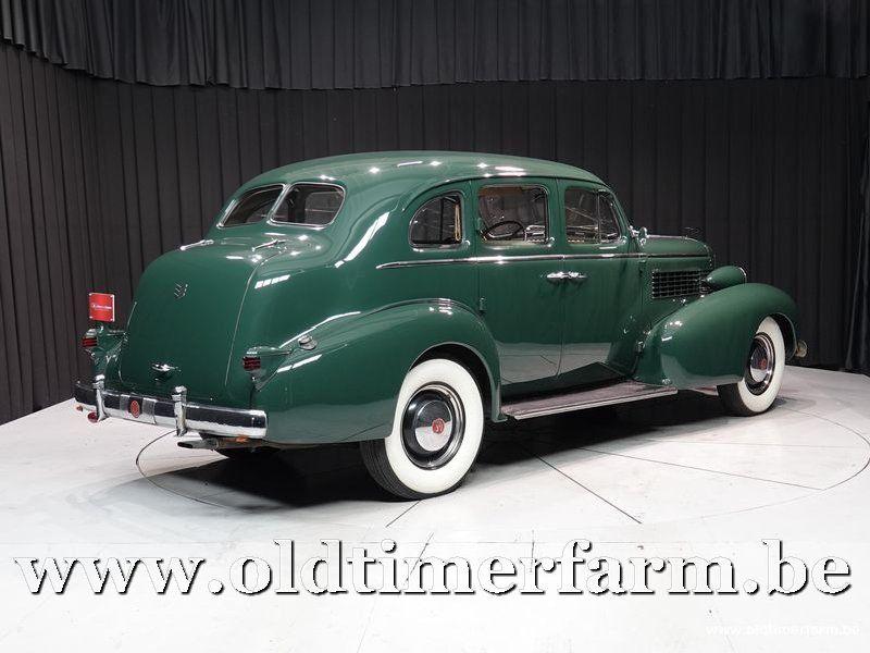 Cadillac La Salle Series 50 V8 Green '37 (1937)