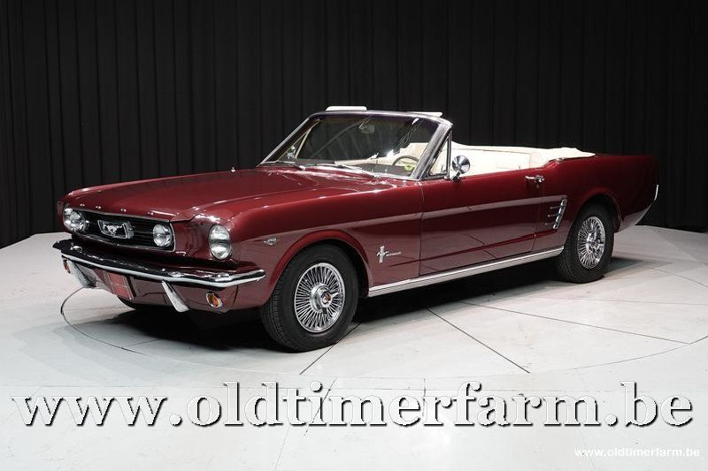 Ford Mustang V8 Convertible  '66 (1966)