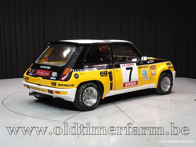 Renault R5 Alpine Turbo Maxi look '83 (1983)