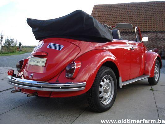 Volkswagen Kever 1500 Cabriolet Red (1969)
