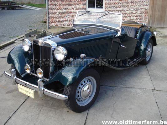 MG TD Green LHD 1952 (1952)