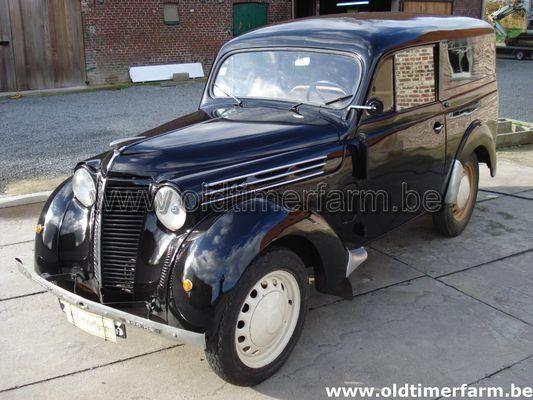 Renault Juvaquatre Commerciale  (1951)