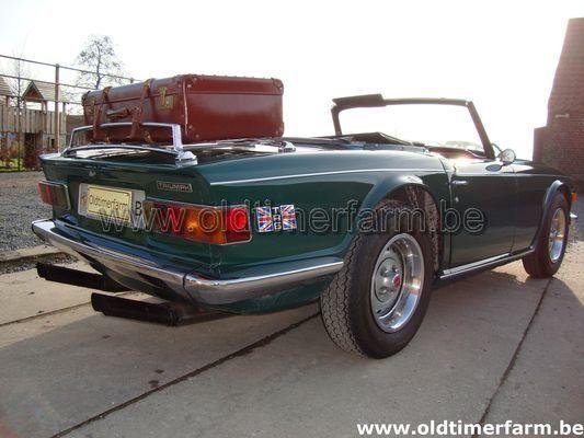 Triumph TR 6 Green  (1972)