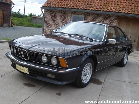 Bmw 635 csi 1985 vendue ref 607 for Interieur 635 csi