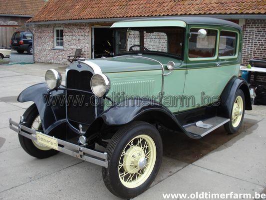 Ford A  tudor  (1930)
