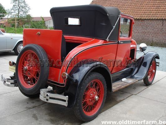 Ford A  Faux Cabriolet  (1929)