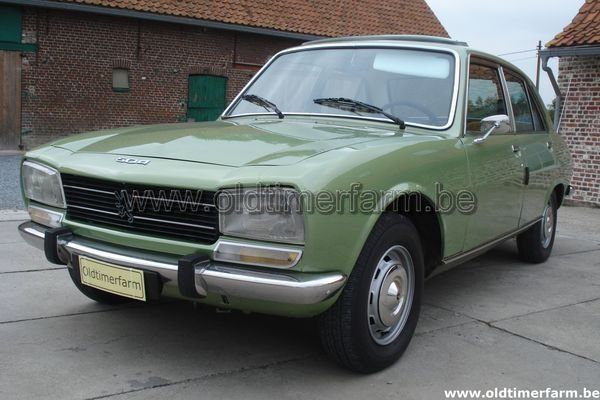 Peugeot 504 Gl 1977 Vendue Ref 664