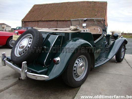 MG TD Green  LHD 1953 (1953)