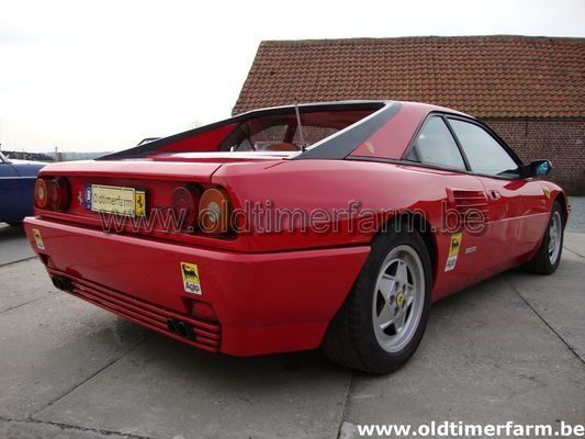 ferrari mondial t red 1992 vendue ref 780. Black Bedroom Furniture Sets. Home Design Ideas