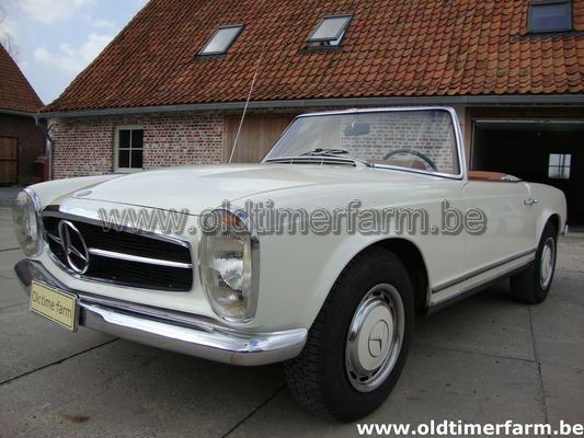 Mercedes-Benz 280 SL pagode White (1969)