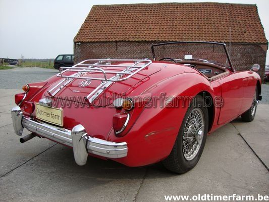 MG A red 1600 1960 (1960)