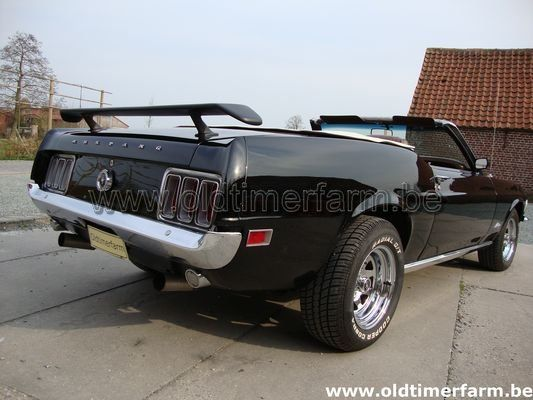 Ford Mustang Cabriolet 302CI (1970)