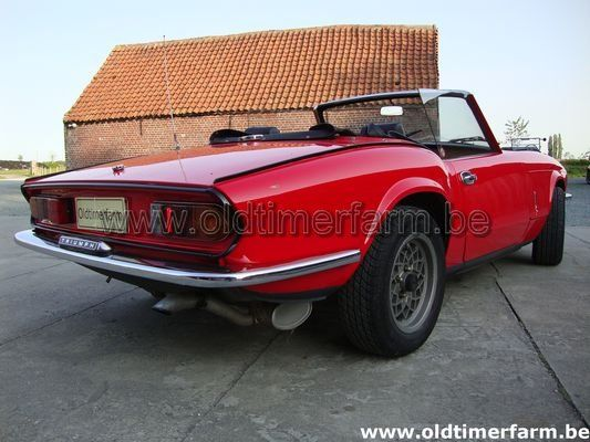 Triumph Spitfire red 1500 (1977)