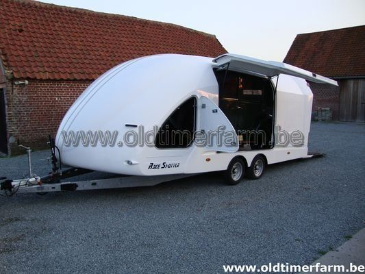 Trailer Brain James Race Shuttle Rs 5 2007 Verkocht