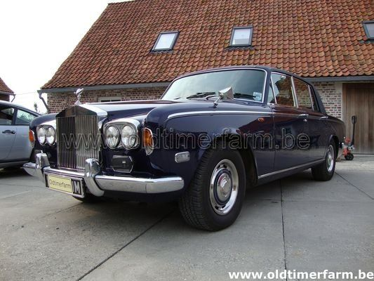Rolls Royce Silver Shadow Blue 1973 (1973)