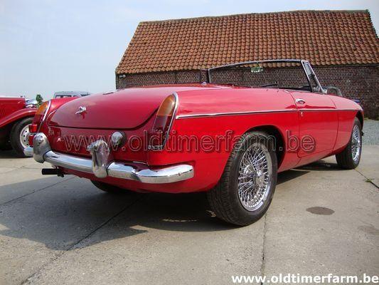 MG B red LHD 1963  (1963)