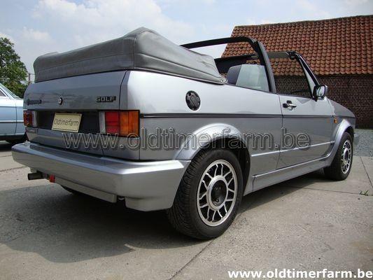 Volkswagen  Golf  I GLI  Cabriolet  (1989)