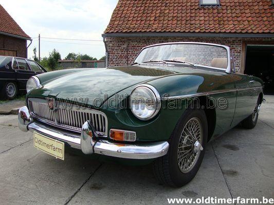 MG B green  LHD 1969 (1969)