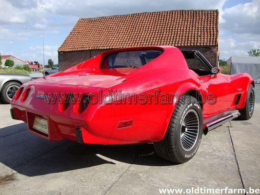 Chevrolet Corvette C3 Stingray Red (1975)