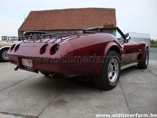 Chevrolet  Corvette C3 cabriolet  Bordeaux (1974)