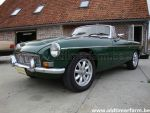 MG C green 1968 (1968)