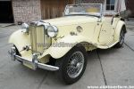 MG  TD  Yellow 1951