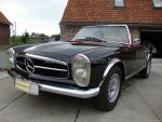 Mercedes-Benz 230SL  Black