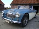 Austin Healey 3000 MK 2  Blue/White