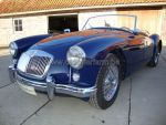MG A Blue 1500 1958