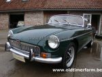 MG B green  LHD 1973