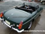 MG B green  LHD 1973 (1973)