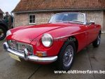 MG B Red LHD 1964