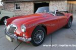 MG  A  orient Red 1500 1956