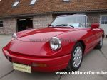 Alfa Romeo Spider 4  Red 1991