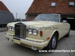 Rolls Royce Corniche Yellow 1978