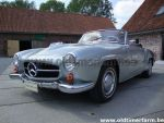 Mercedes-Benz 190 SL Grey 1958