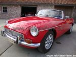 MG B Red LHD 1972