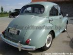 Morris  Minor 4 door  Licht groen  (1960)