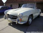 Mercedes-Benz  190SL White 1961