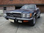 Mercedes-benz 350SL (Blue) ex-US
