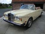 Rolls Royce Corniche Yellow 1974
