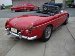 MG B Red RHD 1967 (1967)