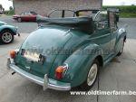 Morris  Minor 1000 Cabriolet green  (1964)