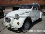 Citroën  2 CV White  1985