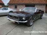 Ford Mustang Cabriolet  Black V8 (1968)